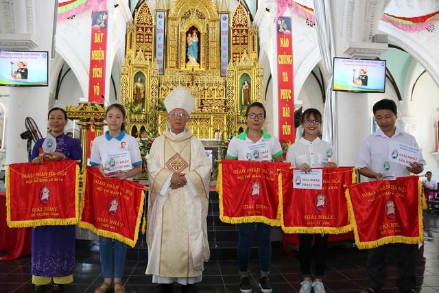 Hội Thi Giáo Lý Năm 2016 Tổng Giáo Phận Hà Nội