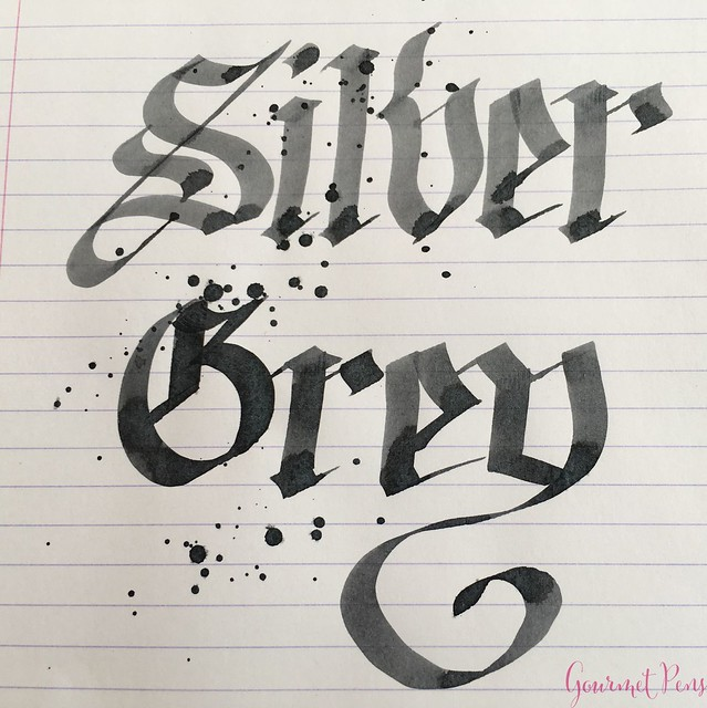 Ink Shot Review @Laywines Silver Grey 6
