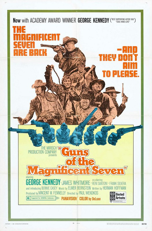 Guns of the Magnificent Seven - Poster 1