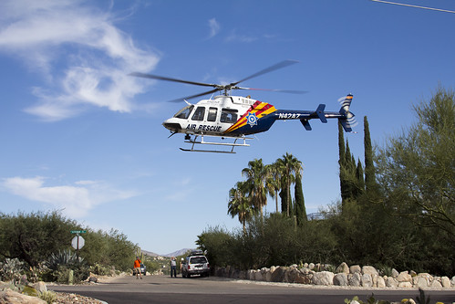 Arizona DPS Search and Rescue Helicopter
