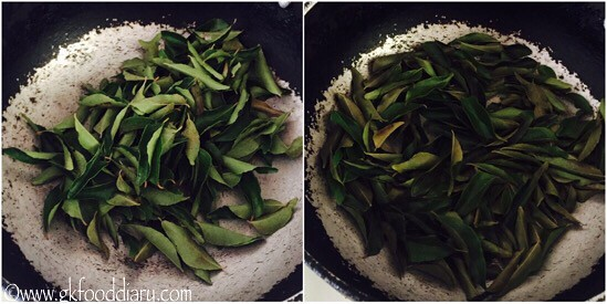 Curry Leaves Powder Recipe for Toddlers and Kids - step 3