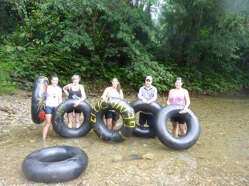 Carrying the inner-tubes