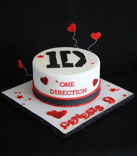 One Direction Cake Sainsburys
