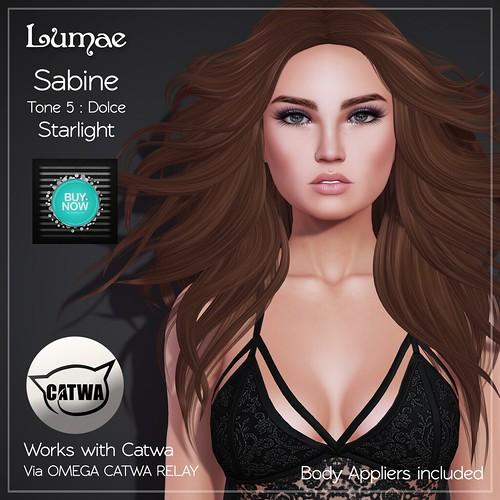 Lumae - Sabine T5 - Catwa Only - Starlight