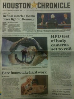 The Morian Hall of Paleontology gets some front-page love | by Houston Museum of Natural Science
