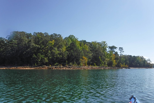 Paddling to Ghost Island in Lake Hartwell-32