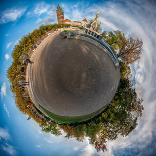 Little Planet - Mathildenhöhe, Darmstadt | by sidjej