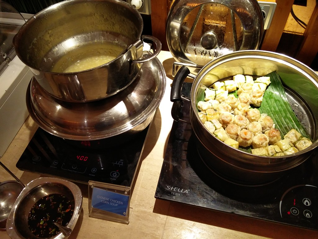 Dumplings and soup