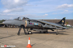 ZD354 - P21 - Royal Air Force - British Aerospace Harrier GR7 - 041010 - Duxford - Steven Gray - DSCF3197