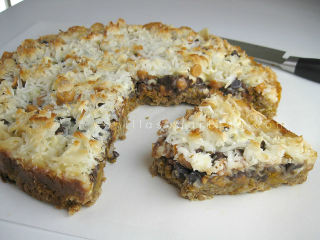 7 Layer Bars with Pumpkin
