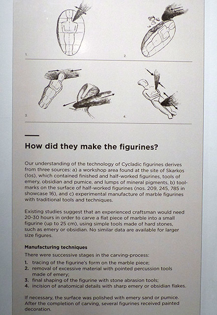 comment fabriquer une figurine cycladique