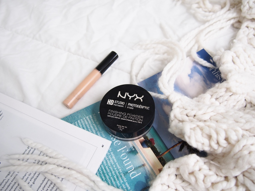 NYX HD translucent powder, Collection lasting perfection concealer
