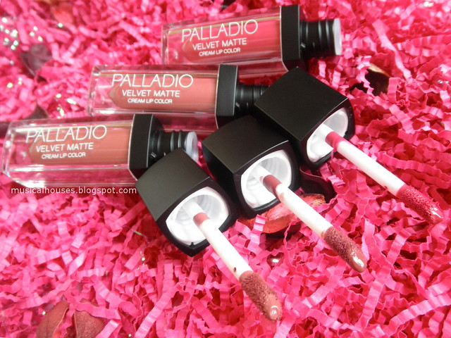 Palladio Matte Lip Color Review Velvet Cream