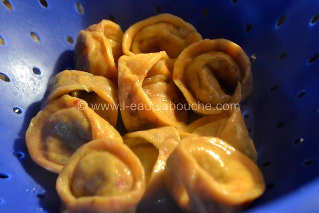 Tortellini Aux Epinards & Ricotta Sauce au Gorgonzola © Ana Luthi Tous droits réservés 029