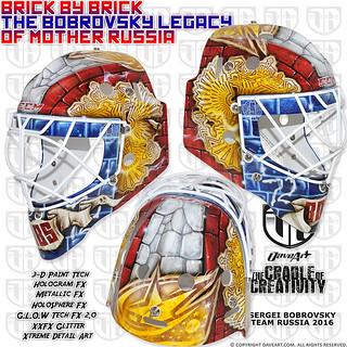 Brick By Brick - The Bobrovsky Legacy Of Mother Russia - Sergei Bobrovsky, Team Russia, World Cup 2016