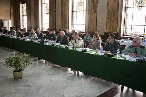 El director general de la guardia civil arsenio fern ndez for Ministerio del interior guardia civil