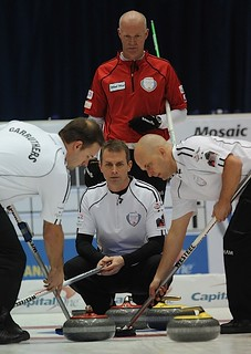 Jeff Stoughton with Sweepers and Glenn Howard | by seasonofchampions