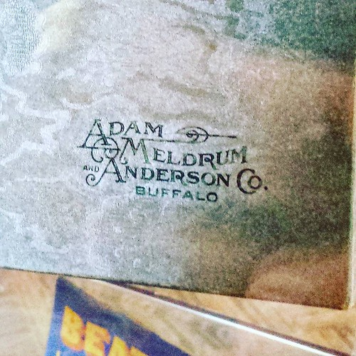 Detail from vintage jewelry box. AM&A's was the department store chain in Buffalo and WNY back when every region had its own department store brand. #buffalo #eriecountyfair