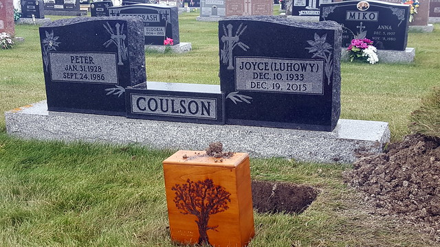 Peter and Joyce Coulson