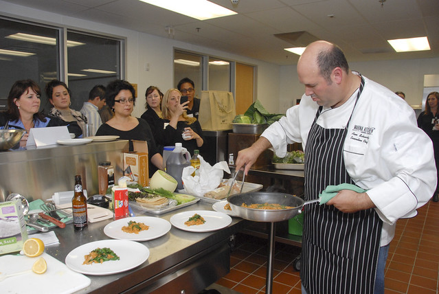 Port of San Diego's Top Green Chef Cook-off