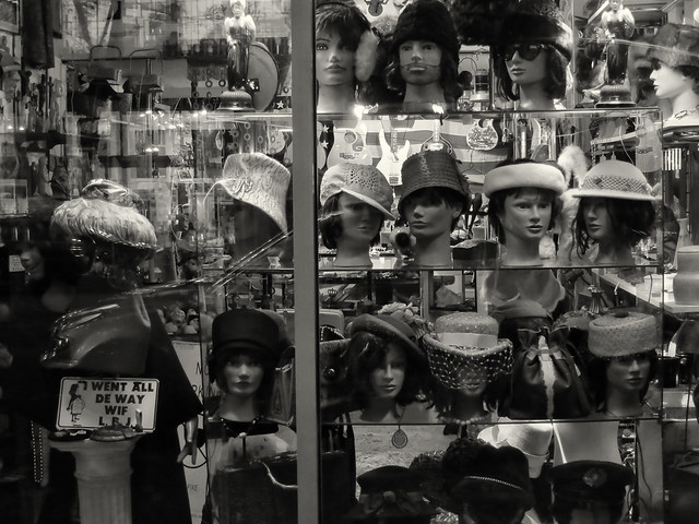 Secondhand Hat Display, Pike/Pine, Seattle