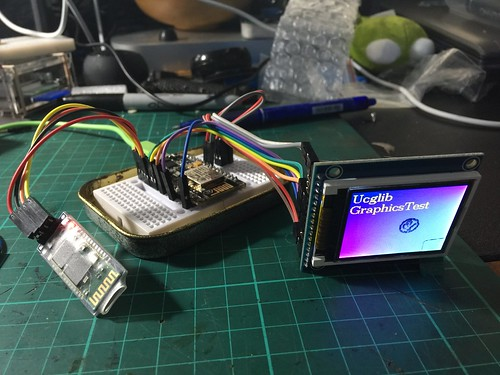 Connecting an ST7735 LCD to NodeMCU