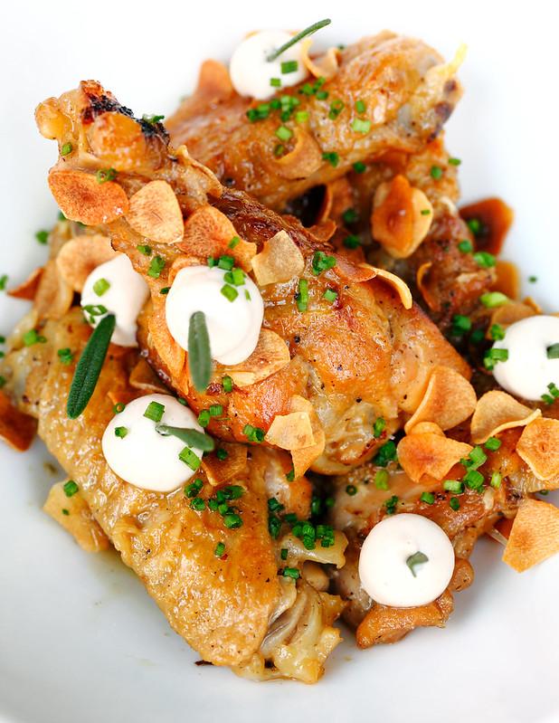 Catalan Style Chicken Carlic Stew
