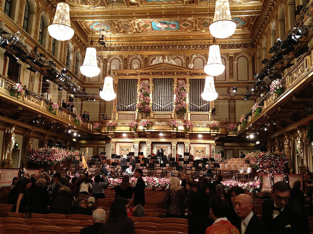 Wat te doen in Oostenrijk? The New Year's Eve Concert 2013 at The Wiener Musikverein