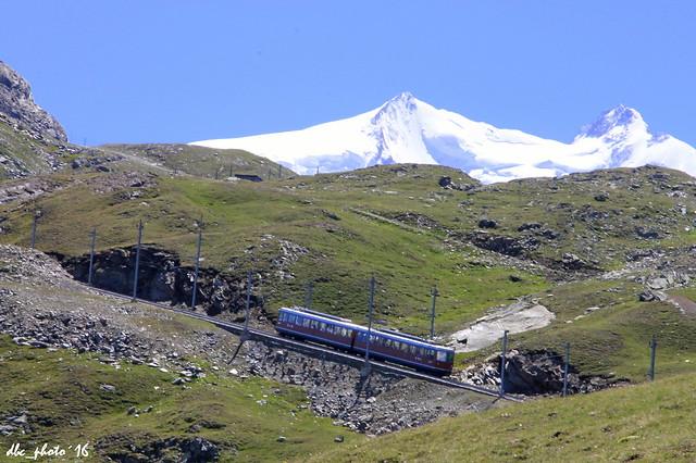 Tren hacia Gornergrat