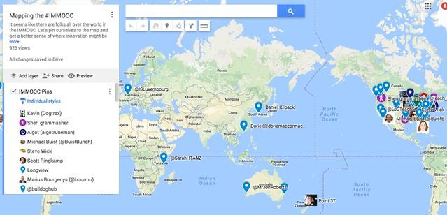 IMMOOC Map