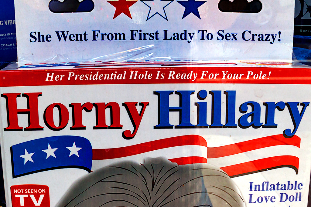 Horny Hillary love doll--Center City (detail)