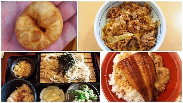 0701的早餐, 午餐與晚餐