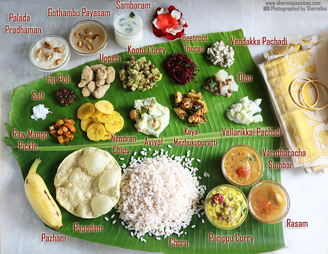 Onam Sadya Lunch Menu