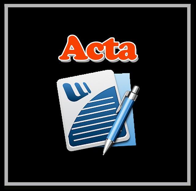 ACTA No.14 CUMBRE SOCIAL