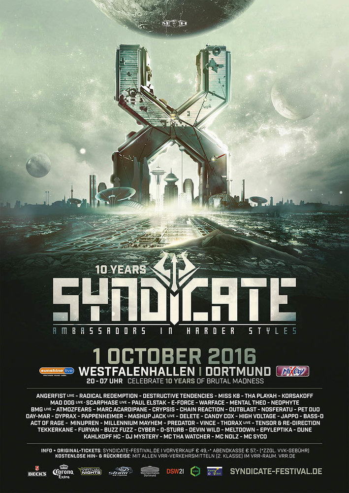 cyberfactory 2016 syndicate westfalenhallen dortmund germany