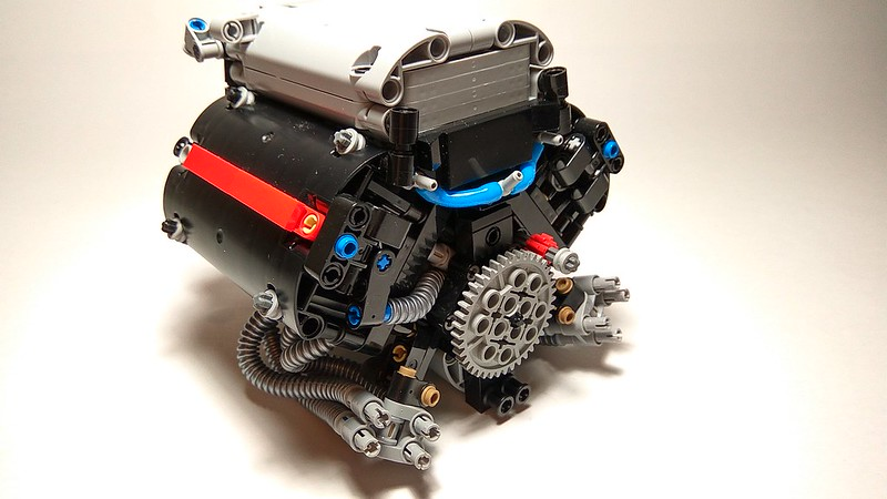lego technic engine instructions