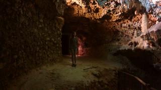 Briana Inside Kadisha Grotto