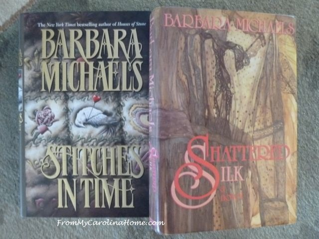 Sewing Fiction Barbara Michaels ~ From My Carolina Home