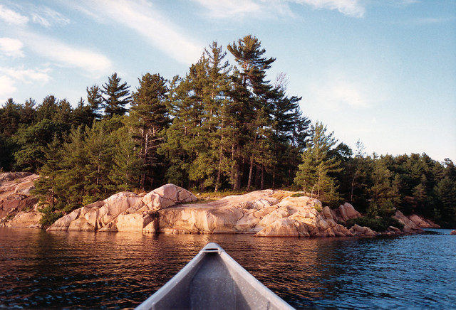 1988 Canoe POV George Lake Killarney
