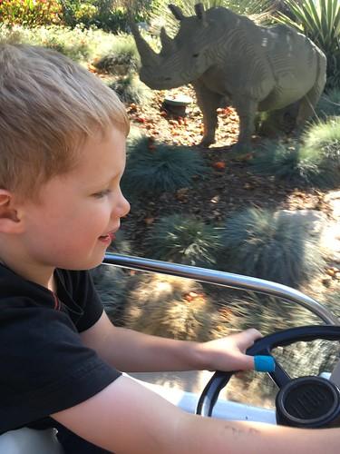 Felix at the Wheel, Legoland