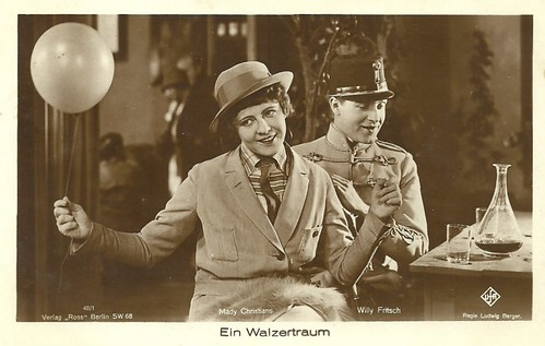 Mady Christians & Willy Fritsch in Ein Walzertraum