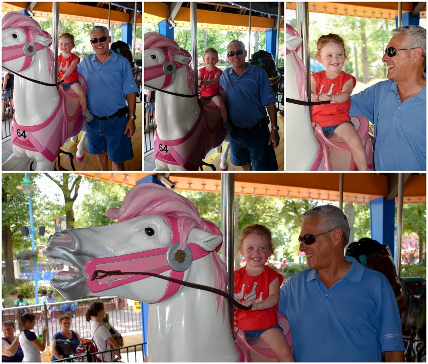 horsies with grandpa