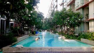 Pool in Bangkok