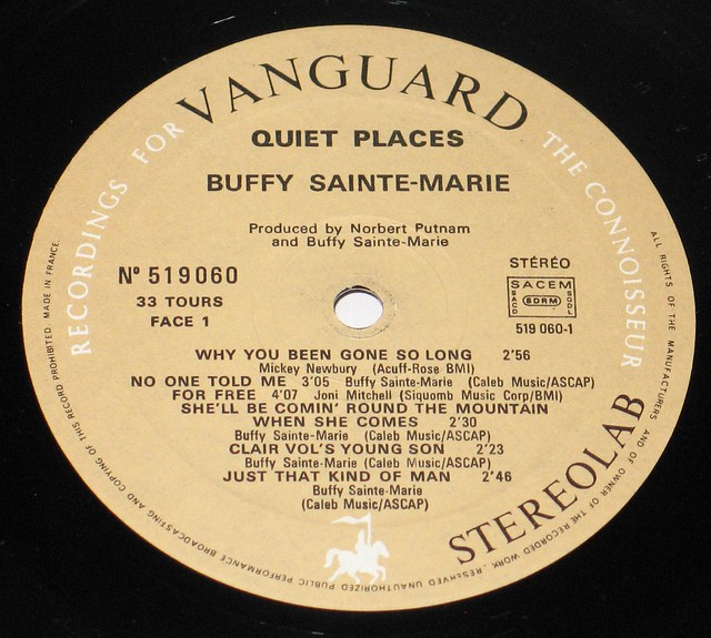 Buffy Sainte-Marie Quiet Places
