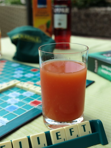 Campari Orange zum Scrabble