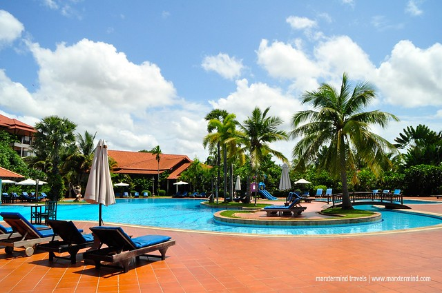 Angkor Palace Resort & Spa Main Pool