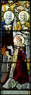 Isaiah, St John the Baptist and David (Ward & Hughes, 1894)