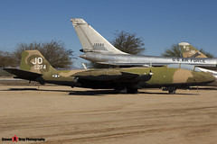 55-4274 JO - 376 - USAF - Martin B-57E Canberra - Pima Air and Space Museum, Tucson, Arizona - 141226 - Steven Gray - IMG_8587