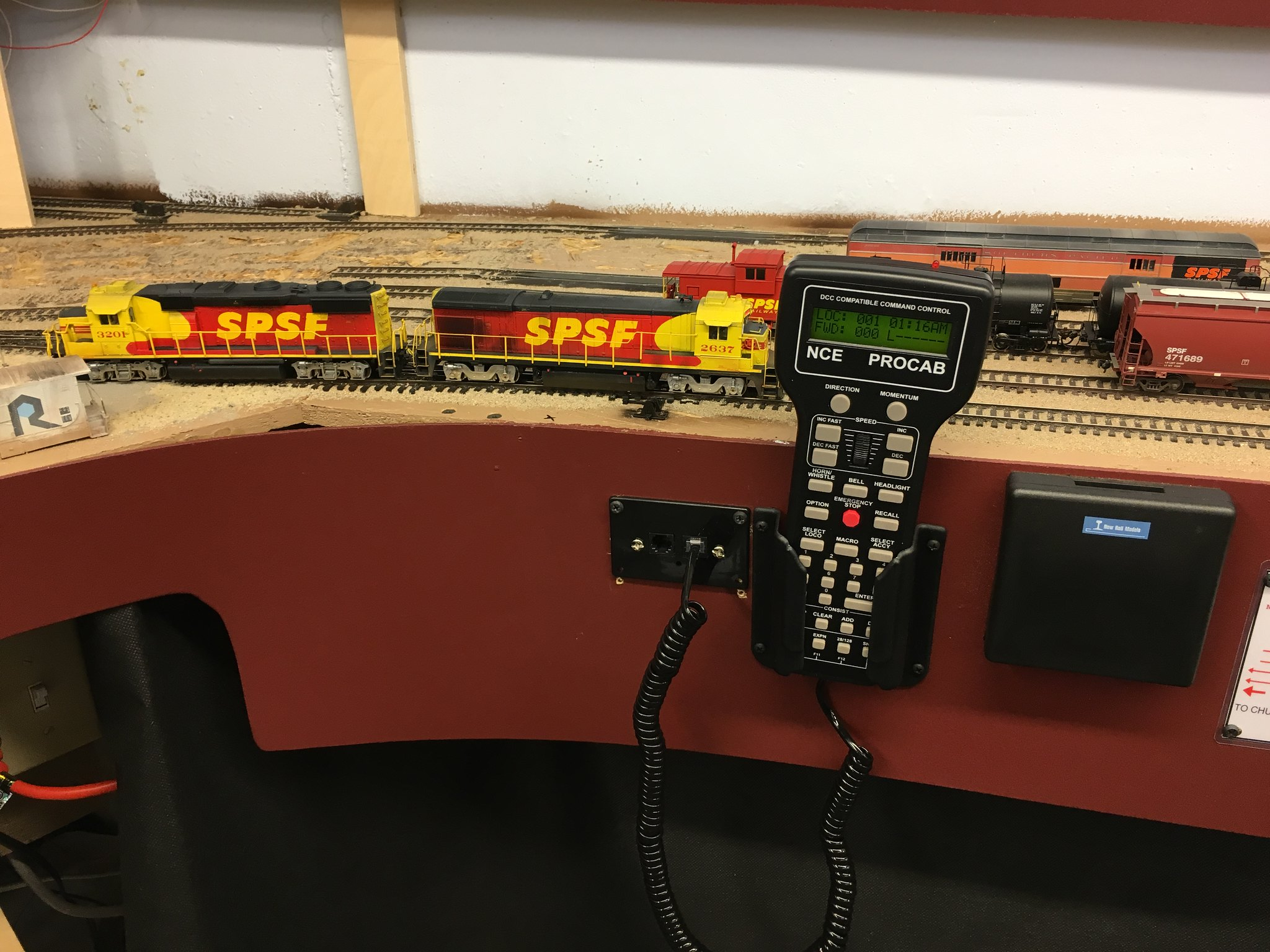 Spsf Meadow Sub Converting From Digitrax To Nce On A Small Mid Size Dcc Wiring Track Over The Past Three Weeks I Have Converted My Layout System What Follows Is Personal Experience Conversion For