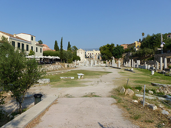 l'agora romaine 2